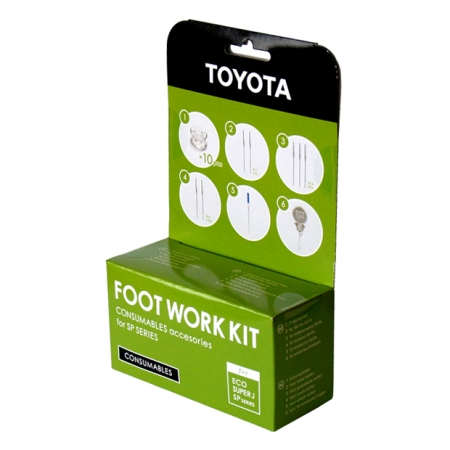 Footwork Kit – Consumables (SP)